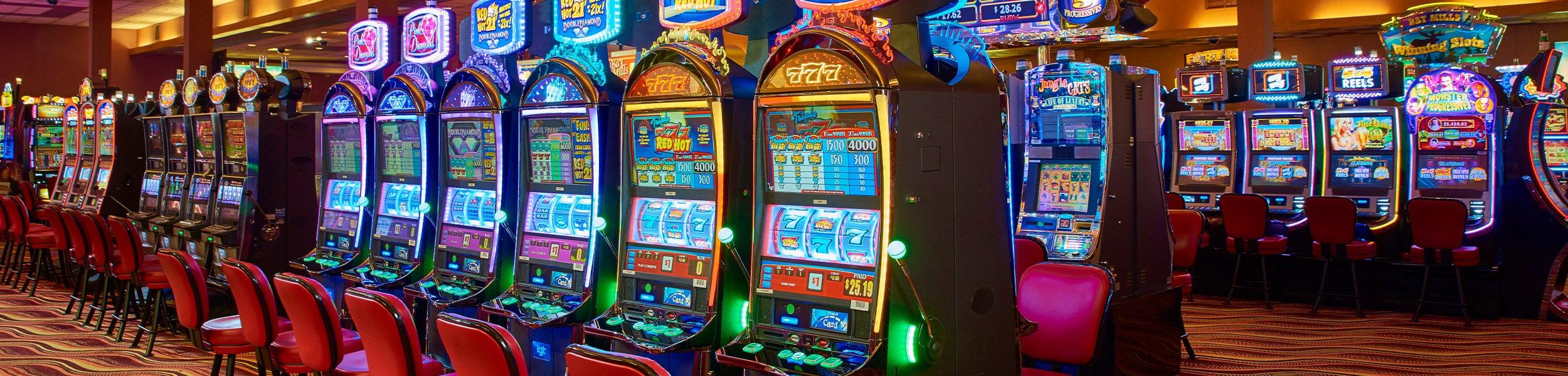 Casino slot machine bay area location